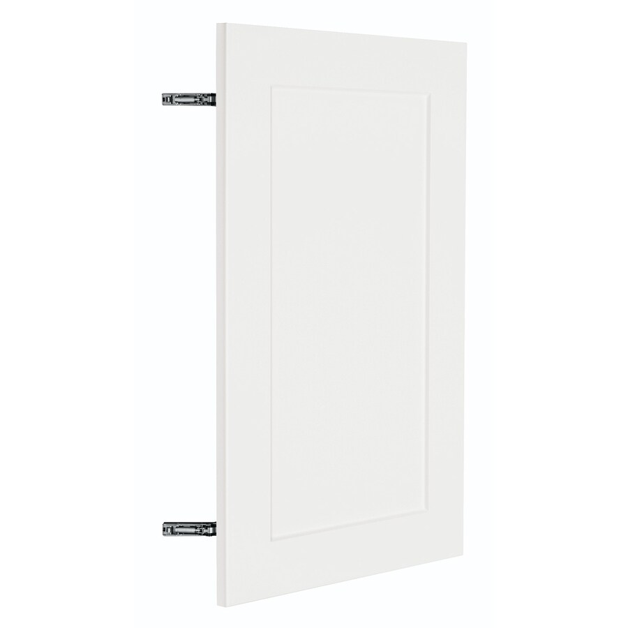 Nimble by Diamond Vanilla Shake 17.875-in W x 29.906-in H x 0.75-in D White Shaker Door Wall Cabinet