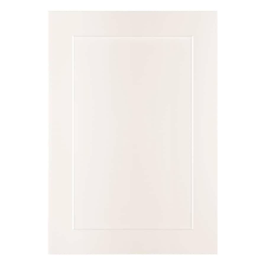 Nimble by Diamond Vanilla Shake 20.875-in W x 29.9062-in H x 0.75-in D White Laminate Shaker Door Wall Cabinet