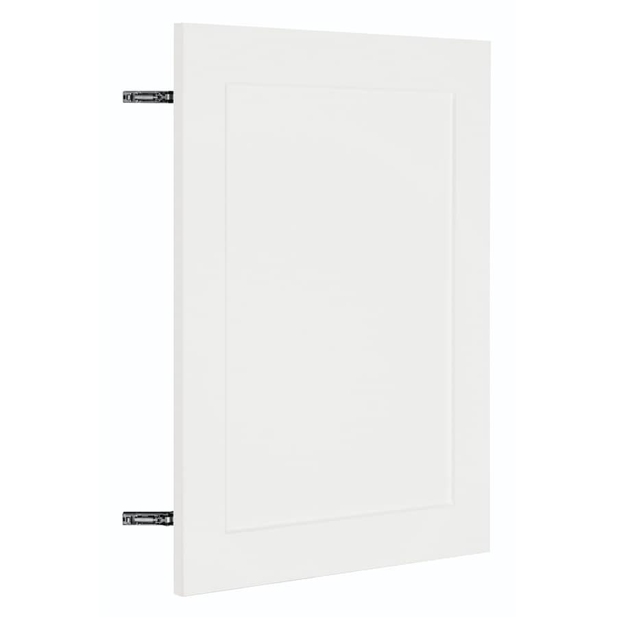 Nimble by Diamond Vanilla Shake 23.875-in W x 29.906-in H x 0.75-in D White Shaker Door Wall Cabinet