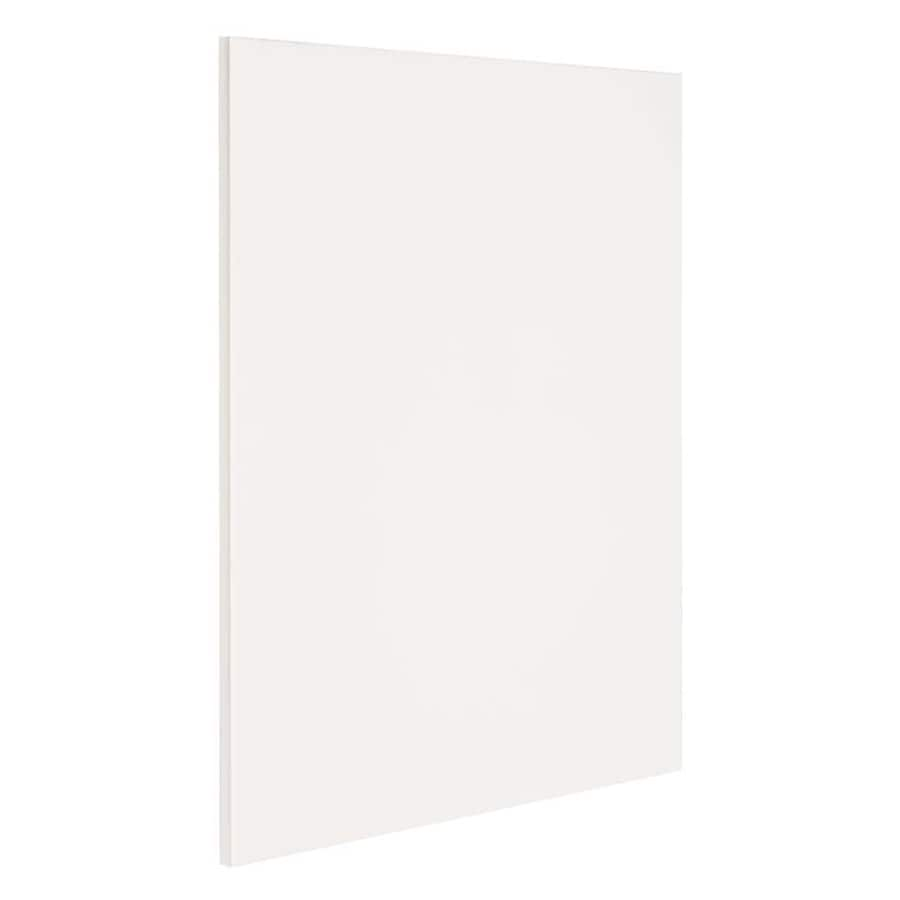 Nimble by Diamond Vanilla Shake 24.75-in x 30-in White Cabinet End Panel