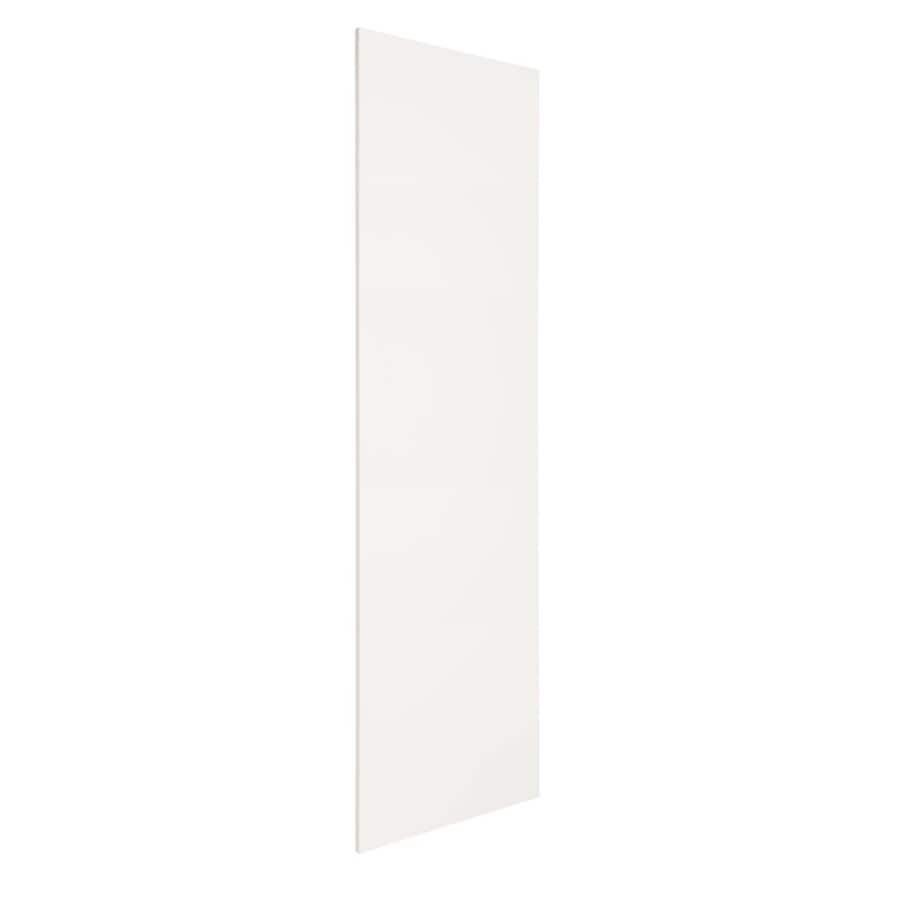 Nimble by Diamond Vanilla Shake 24.875-in x 79-in White Cabinet End Panel