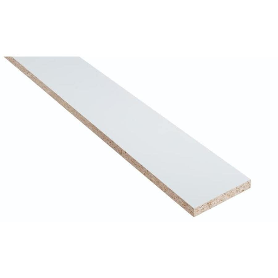 Nimble by Diamond Vanilla Shake 96-in W x 4-in H x 0.4-in D White Cabinet Toe Kick