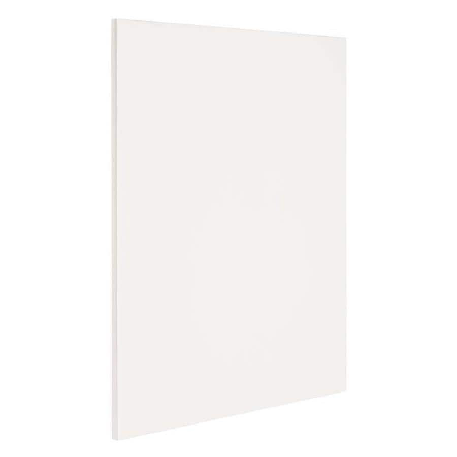 Nimble by Diamond Vanilla Shake 24.75-in x 35-in White Cabinet End Panel
