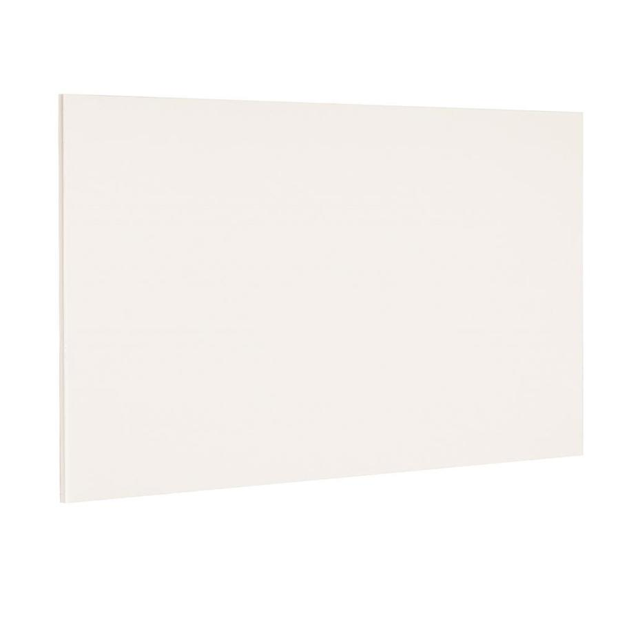 Nimble by Diamond Vanilla Shake 48-in W x 36-in H x 0.217-in D White Cabinet End Panel