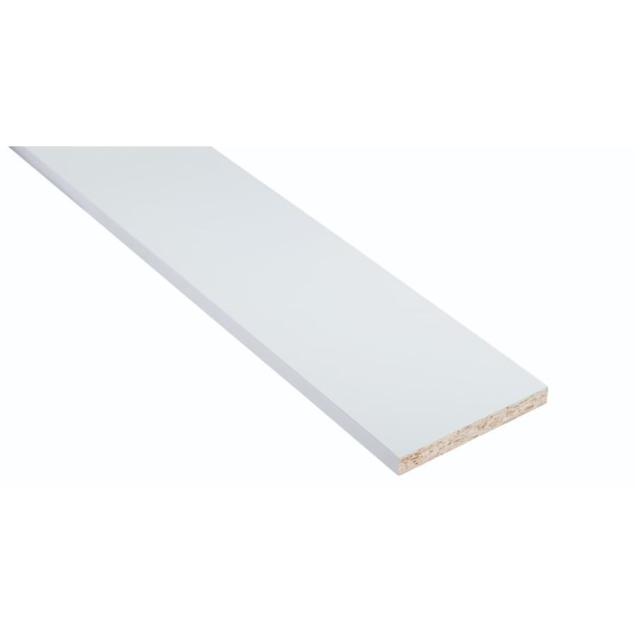 Nimble by Diamond Vanilla Shake 6-in W x 30-in H x 0.75-in D White Cabinet Fill Strip