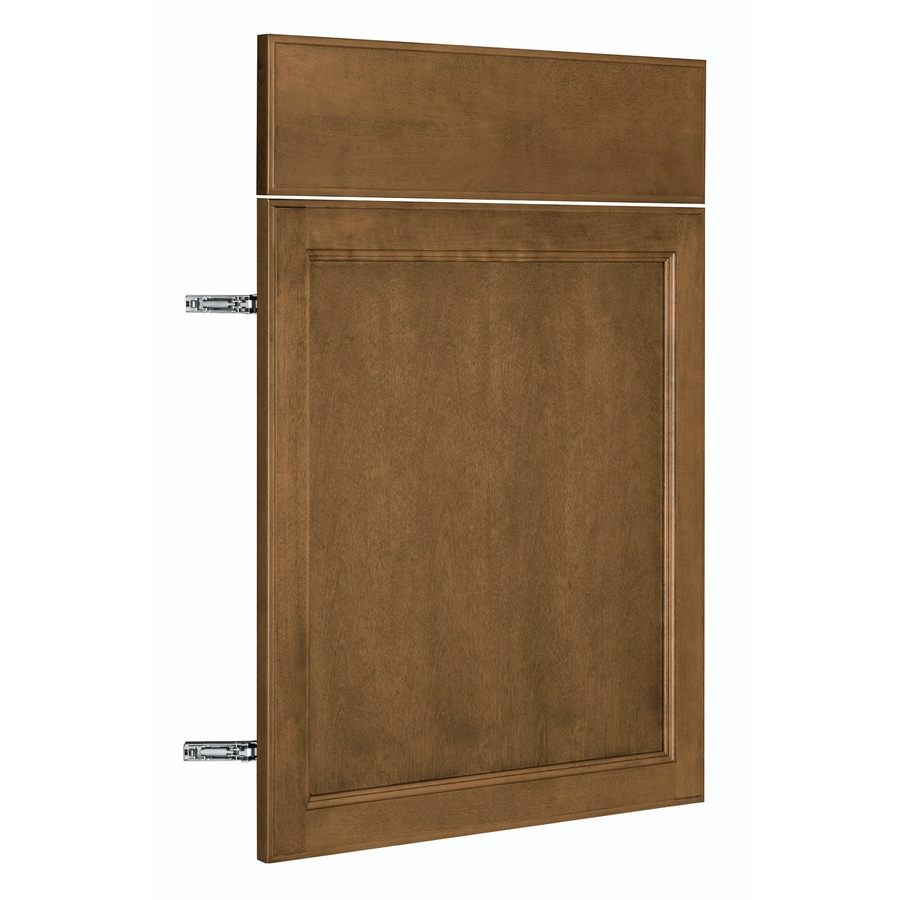 Nimble by Diamond Mocha Swirl 23.875-in W x 23.9062-in H x 0.75-in D Mocha Door and Drawer Base Cabinet
