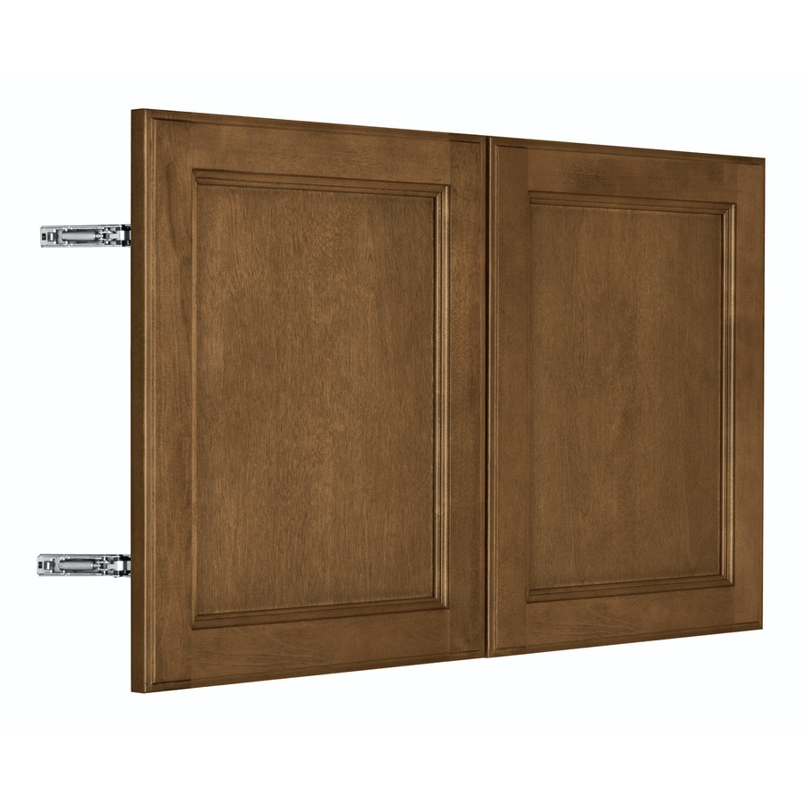 Shop nimble by diamond prefinished birch wall cabinet door for Birch kitchen cabinets review