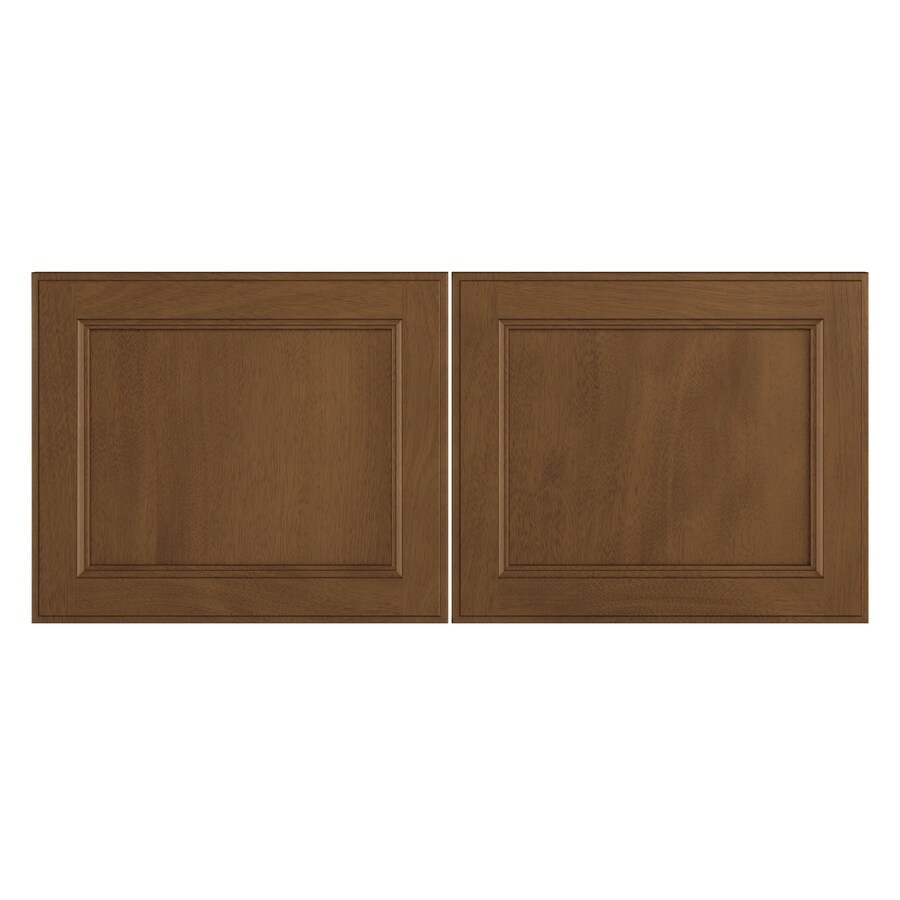 Nimble by Diamond Mocha Swirl 16.375-in W x 13.9062-in H x 0.75-in D Mocha Door Wall Cabinet