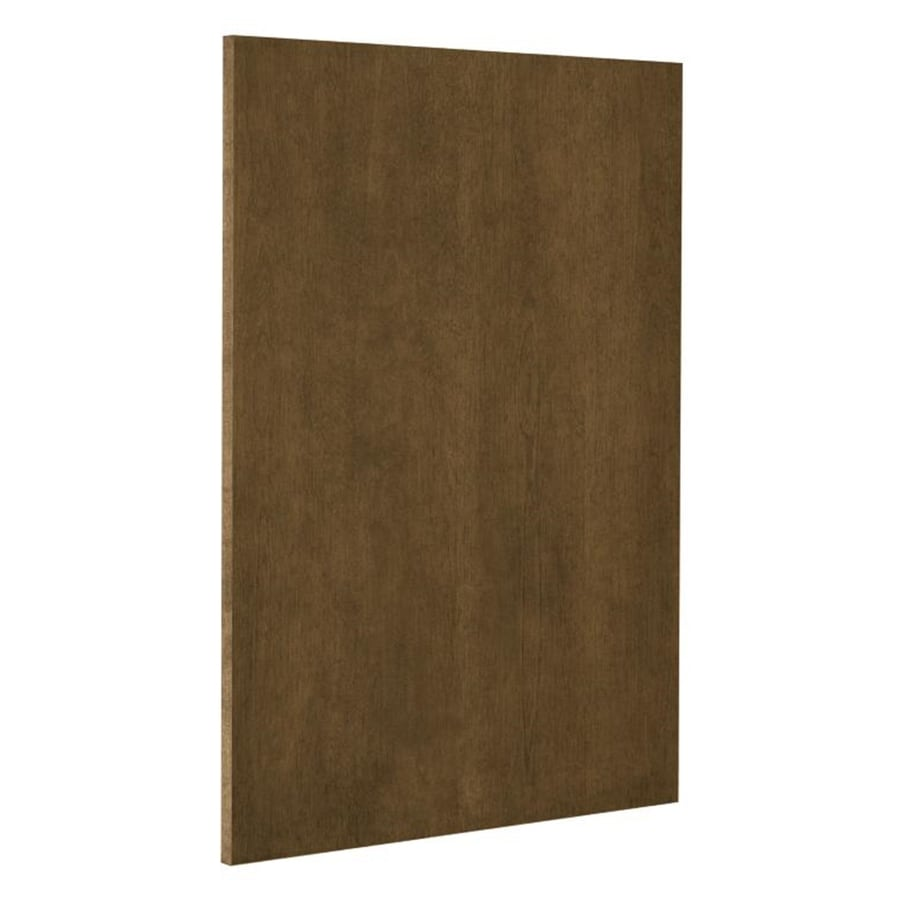 Nimble by Diamond Mocha Swirl 24.75-in W x 30-in H x 0.625-in D Mocha Cabinet End Panel