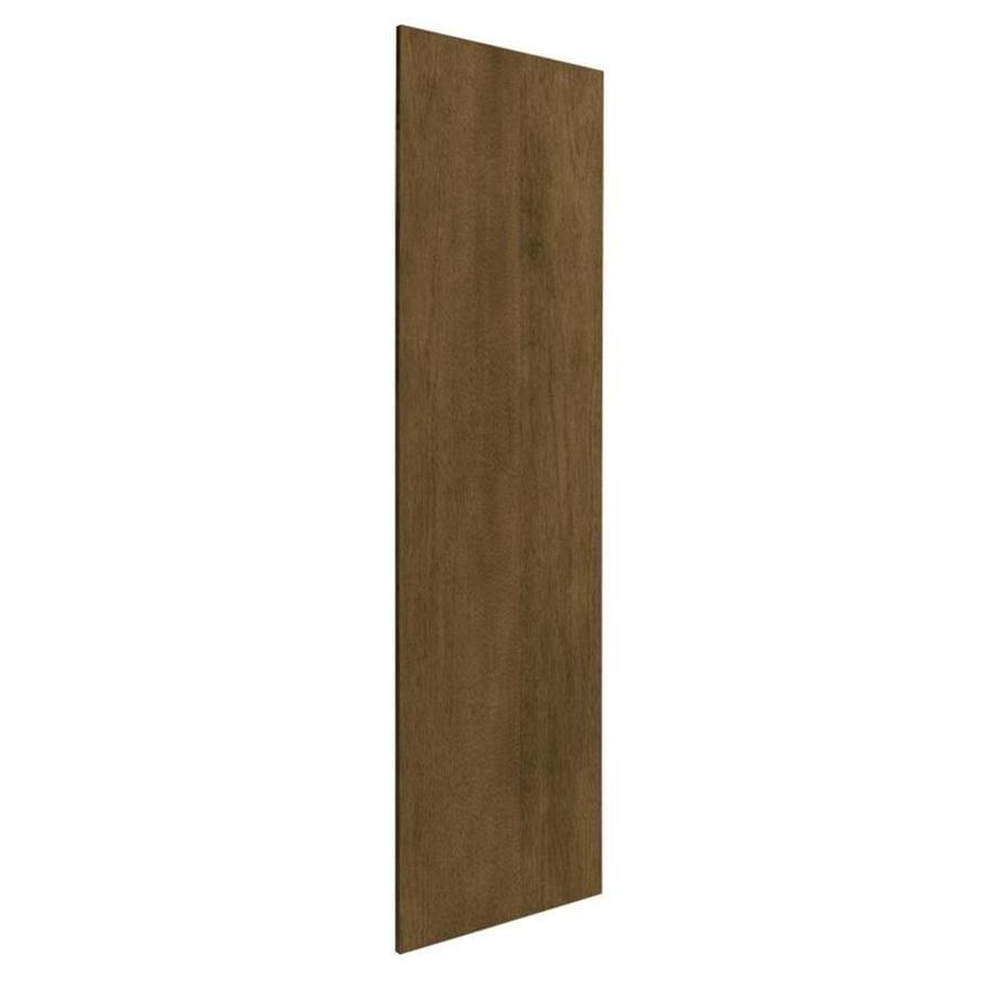 Nimble by Diamond Mocha Swirl 24.875-in W x 79-in H x 0.625-in D Mocha Cabinet End Panel