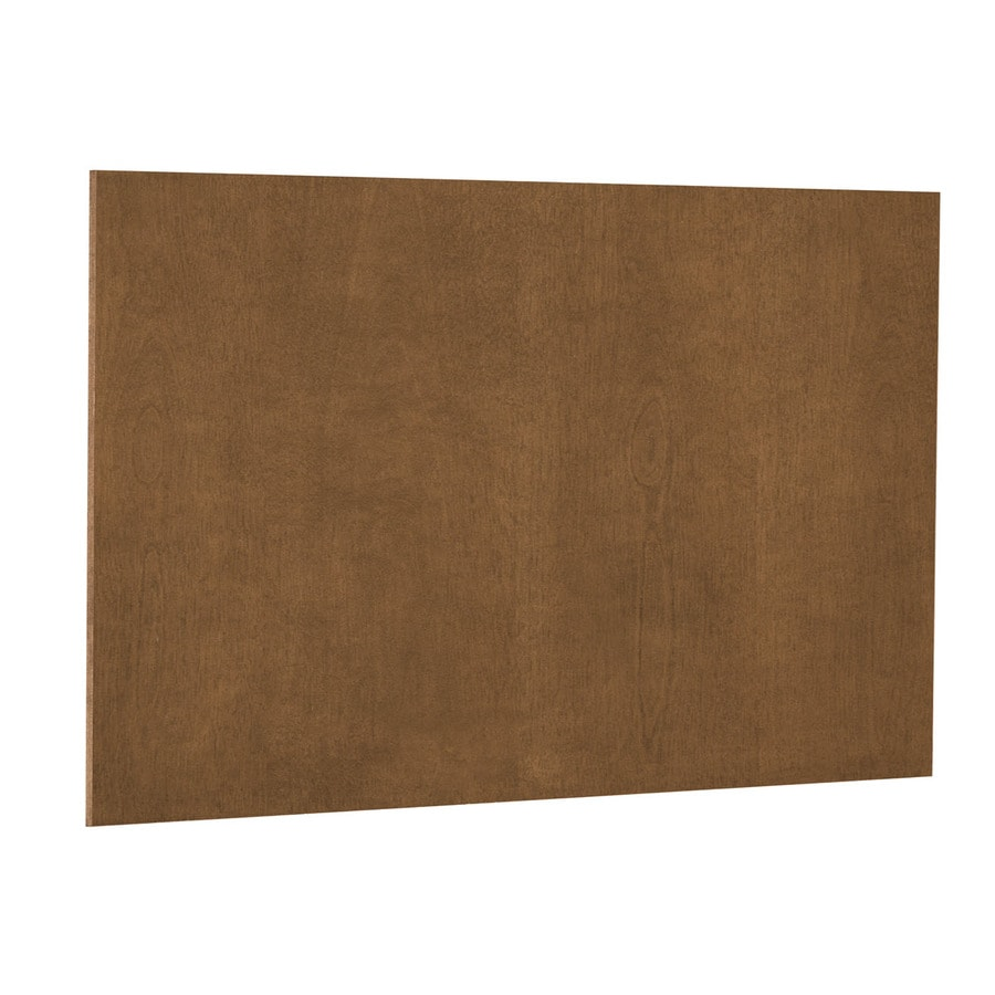 Nimble by Diamond Mocha Swirl 48-in x 36-in Mocha Cabinet End Panel