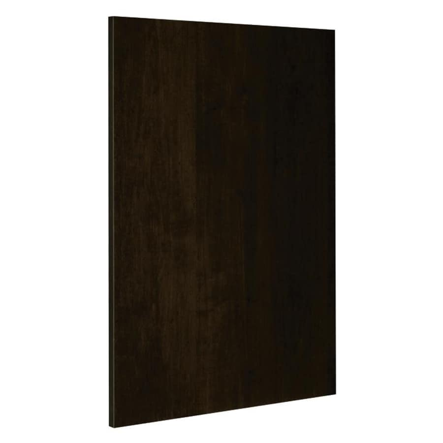 Nimble by Diamond Balsamic Barrel 24.75-in W x 30-in H x 0.625-in D Umber Cabinet End Panel