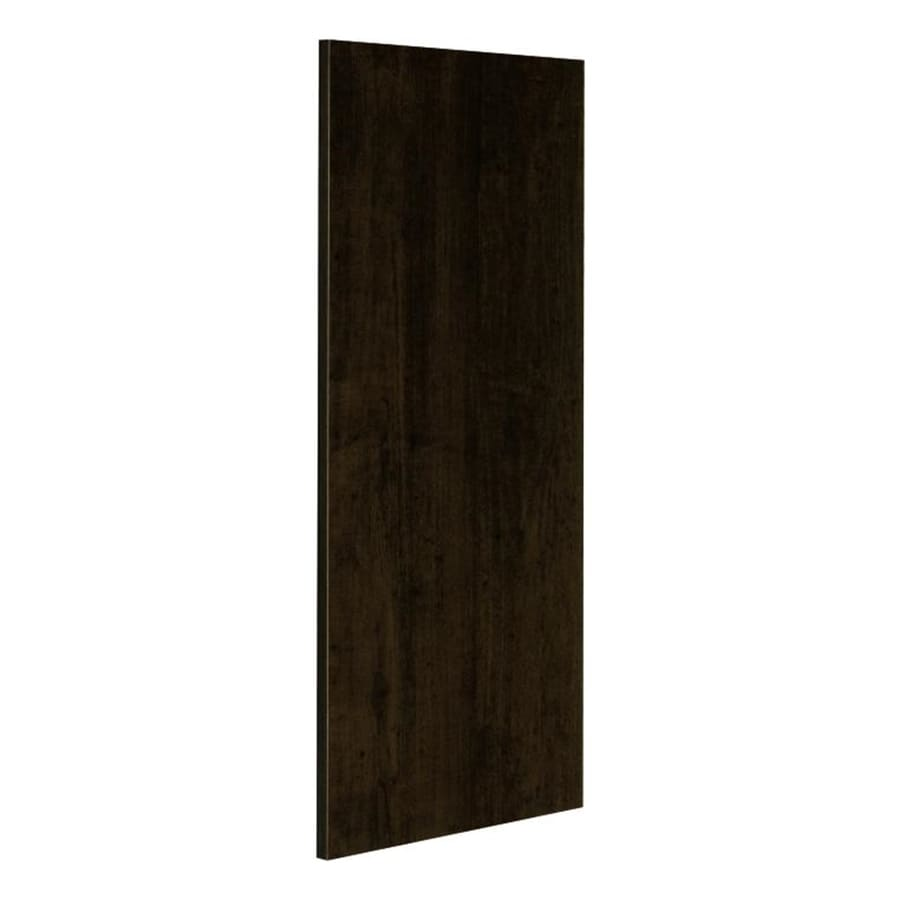 Nimble by Diamond Balsamic Barrel 12.75-in W x 30-in H x 0.625-in D Umber Cabinet End Panel