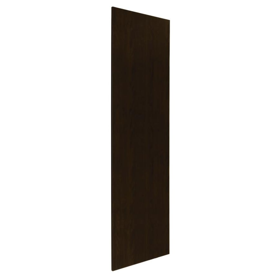 Nimble by Diamond Balsamic Barrel 24.875-in W x 79-in H x 0.625-in D Umber Cabinet End Panel