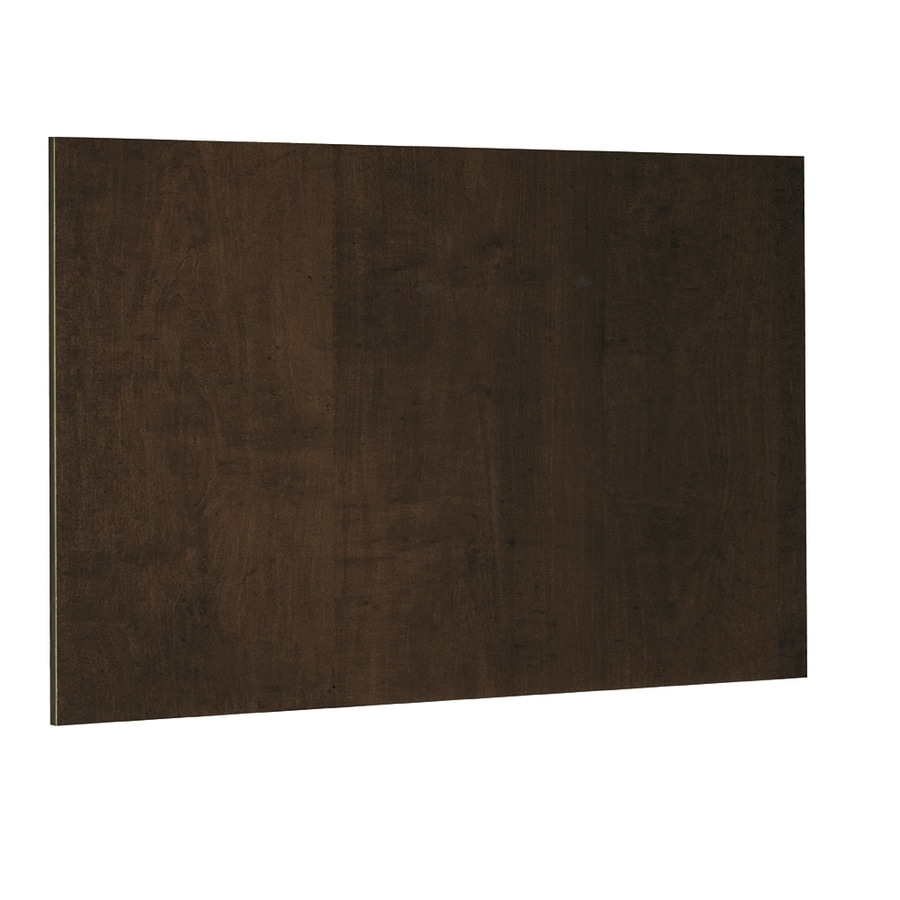 Nimble by Diamond Balsamic Barrel 48-in W x 36-in H x 0.217-in D Umber Cabinet End Panel