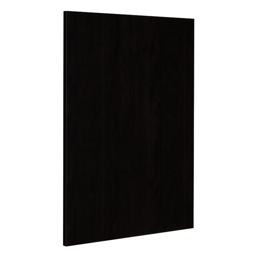 Nimble by Diamond Brownstone Beat 24.75-in W x 30-in H x 0.625-in D Chocolate Cabinet End Panel
