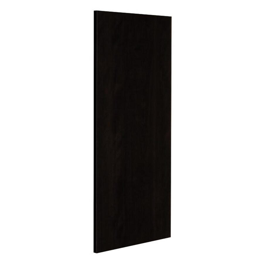 Nimble by Diamond Brownstone Beat 12.75-in W x 30-in H x 0.625-in D Chocolate Cabinet End Panel