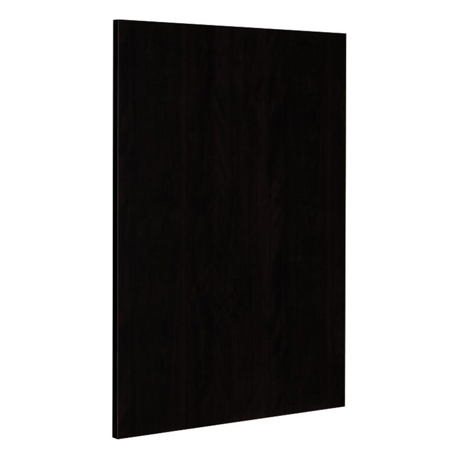 Nimble by Diamond Brownstone Beat 24.75-in W x 35-in H x 0.625-in D Chocolate Cabinet End Panel