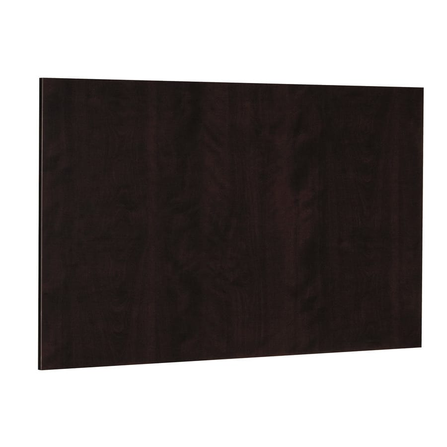 Nimble by Diamond Brownstone Beat 48-in W x 36-in H x 0.217-in D Chocolate Cabinet End Panel