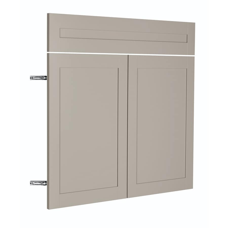 Shop nimble by diamond prefinished kitchen cabinet door at for Bathroom cabinet doors