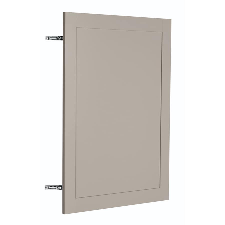 Nimble by Diamond Sea Salt 23.875-in W x 29.906-in H x 0.75-in D Cloud Shaker Door Wall Cabinet
