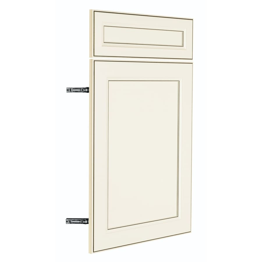 Nimble by Diamond Veranda Breeze 17.875-in W x 23.9062-in H x 0.625-in D Toasted Antique TrueColor Door and Drawer Base Cabinet