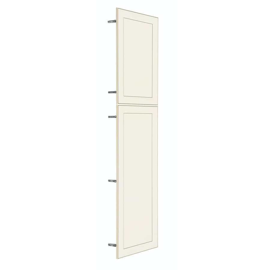 Shop nimble by diamond prefinished pantry cabinet doors at for Prefinished kitchen cabinets