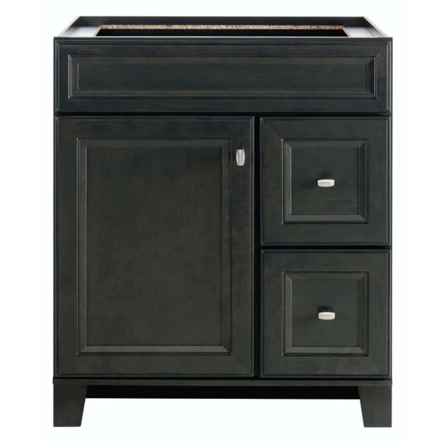 Bathroom Vanity 30 X 16 shop bathroom vanities without tops at lowes