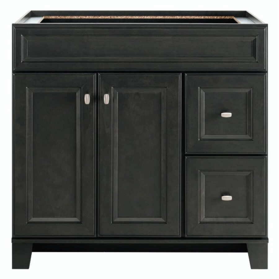 Diamond FreshFit Goslin Storm Bathroom Vanity (Common: 36 In X 21 In
