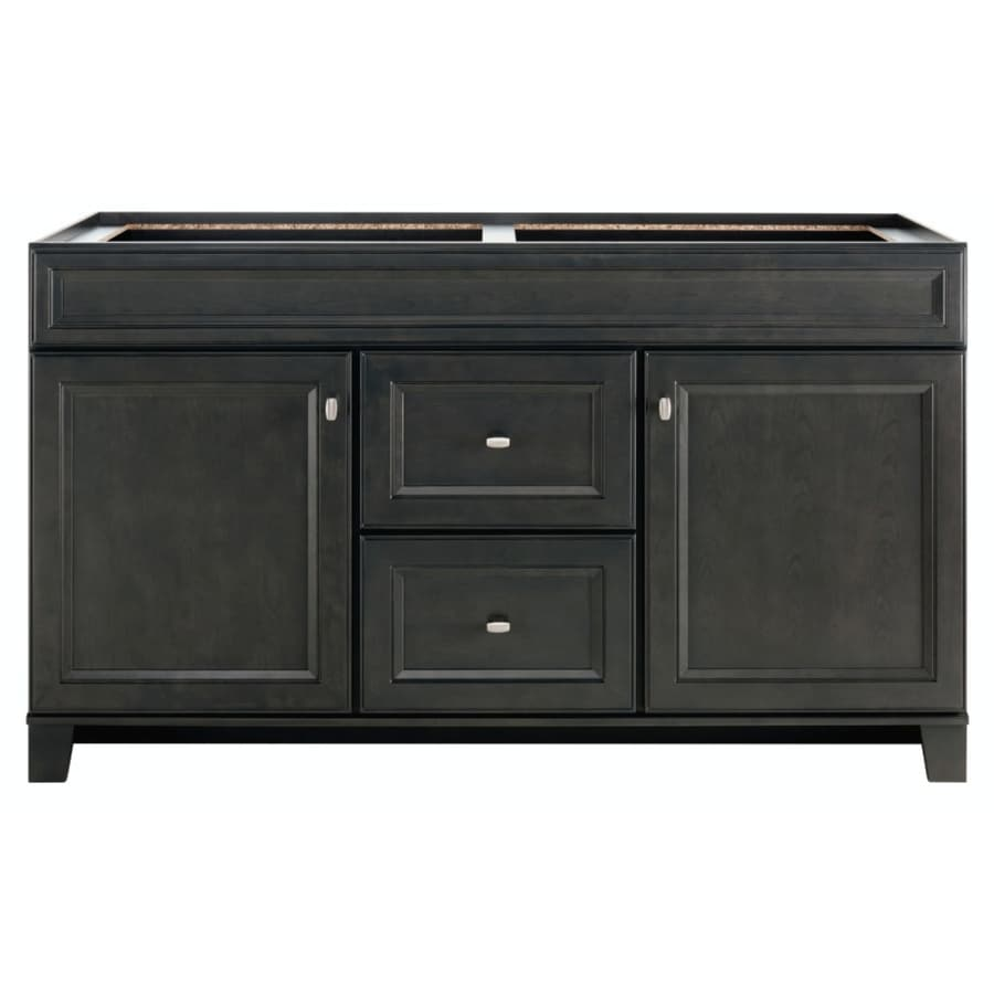 Diamond FreshFit Goslin Storm Bathroom Vanity (Common: 60-in x 21-in; Actual: 60-in x 21-in)