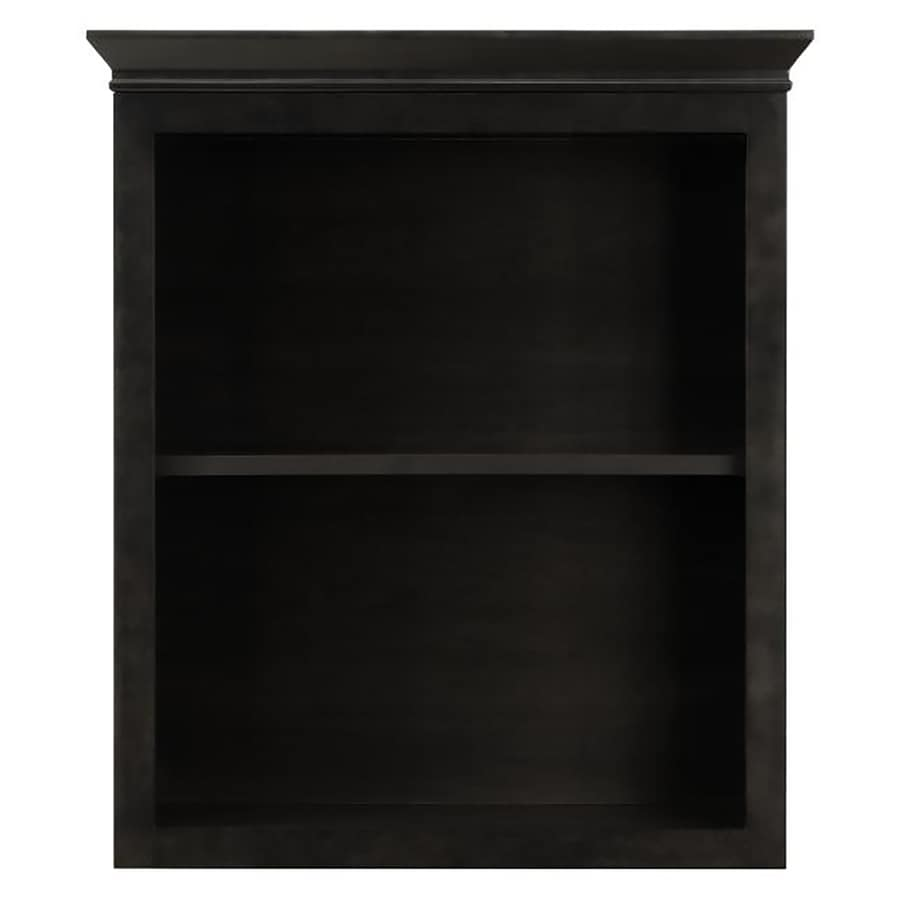 Black bathroom wall cabinet - Diamond Freshfit Goslin 26 8 In W X 36 6 In H X 8 4 In