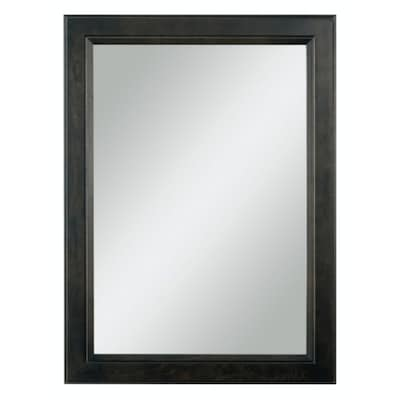 Goslin 25 In Storm Rectangular Bathroom Mirror
