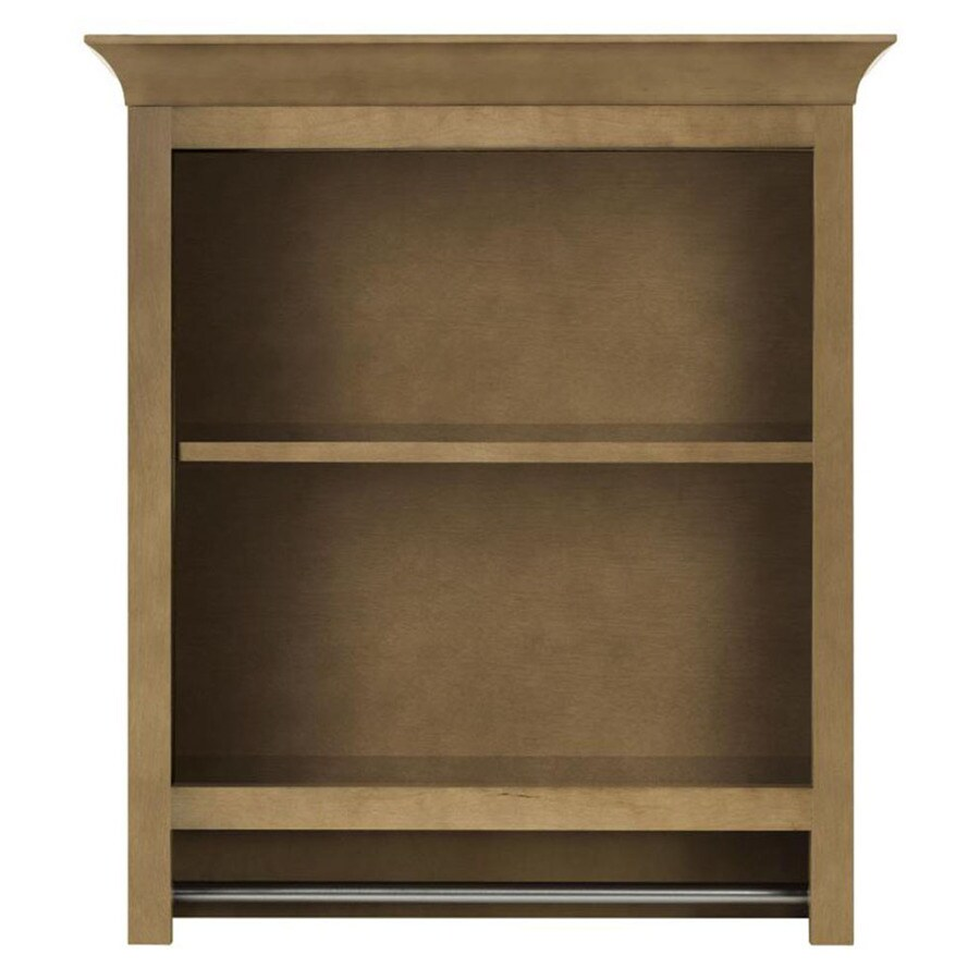 Shop Diamond FreshFit Hanbury In W X In H X In D Tuscan - Lowes bathroom wall shelves