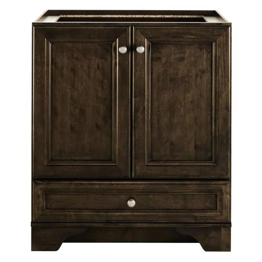 Bon Diamond FreshFit Webster Freestanding Mink Espresso Bathroom Vanity  (Common: 30 In X 21