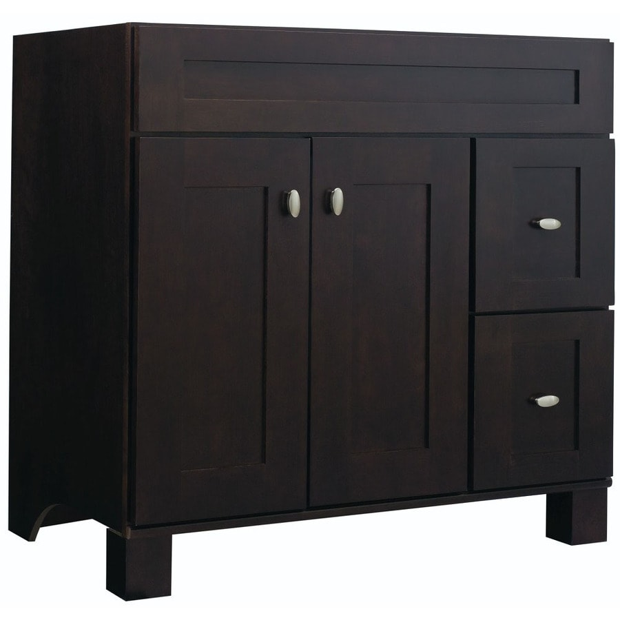 diamond freshfit palencia espresso bathroom vanity common 36 in x 21 in