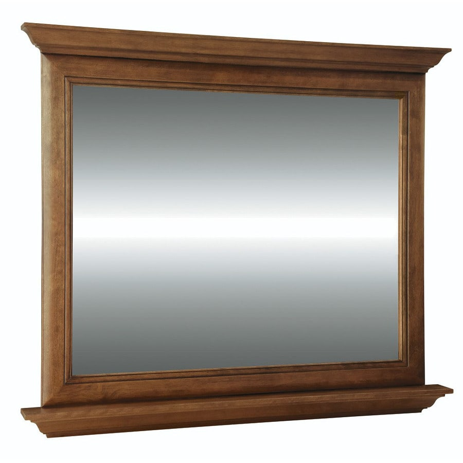 Diamond FreshFit Ballantyne 42 In X 34 Rectangular Framed Bathroom Mirror