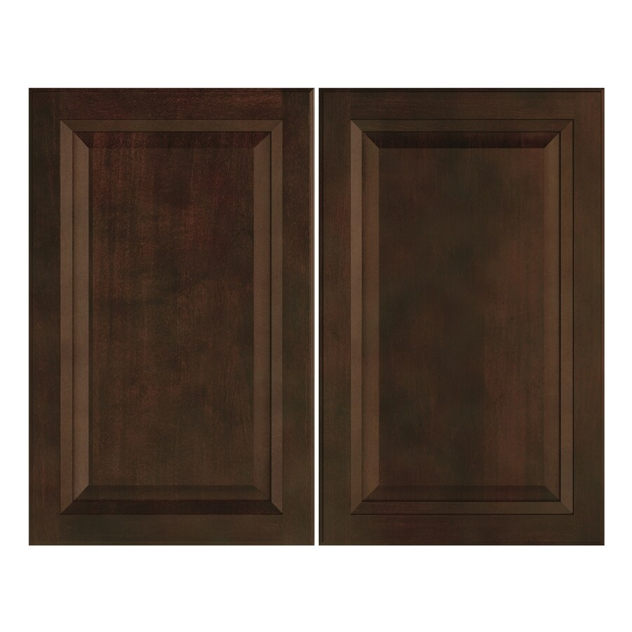 Nimble by Diamond Balsamic Barrel 14.875-in W x 23.9062-in H x 0.75-in D Umber Door Wall Cabinet