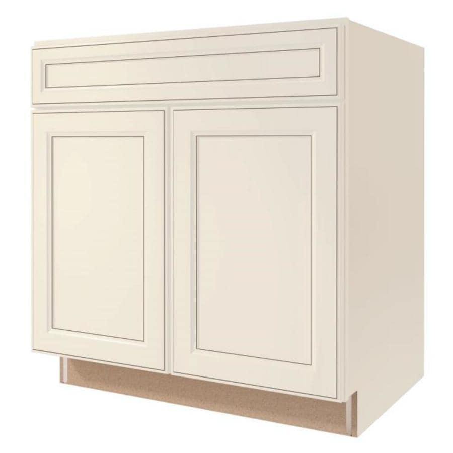 Shop diamond now caspian 33 in w x 35 in h x d for Diamond kitchen cabinets