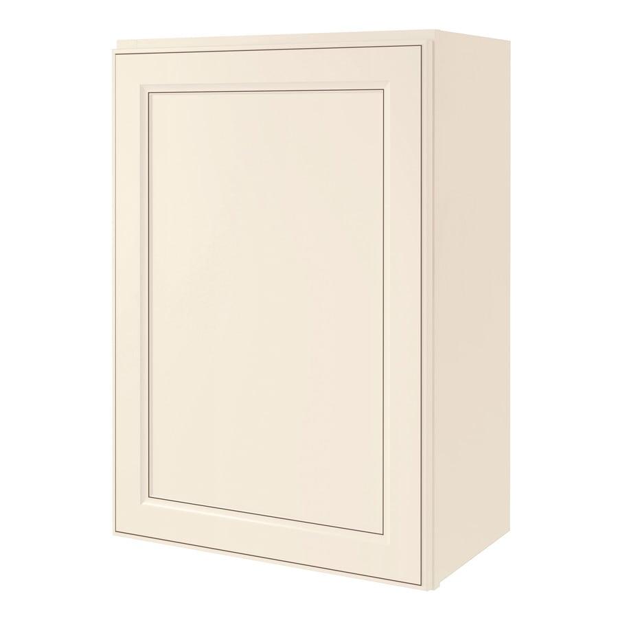 Diamond NOW Caspian 21-in W x 30-in H x 12-in D TrueColor Toasted Antique Door Wall Cabinet