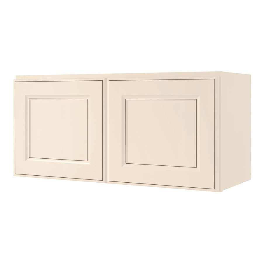 Shop diamond now caspian 30 in w x 14 in h x 12 in d for Kitchen cabinets lowes with wall art picture