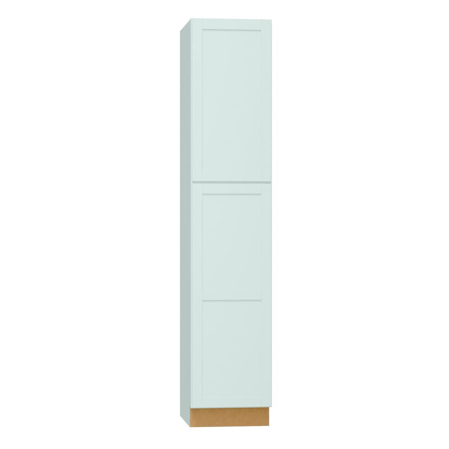 Diamond NOW Arcadia 18-in W x 84-in H x 23.75-in D TrueColor White Shaker Door Pantry Cabinet