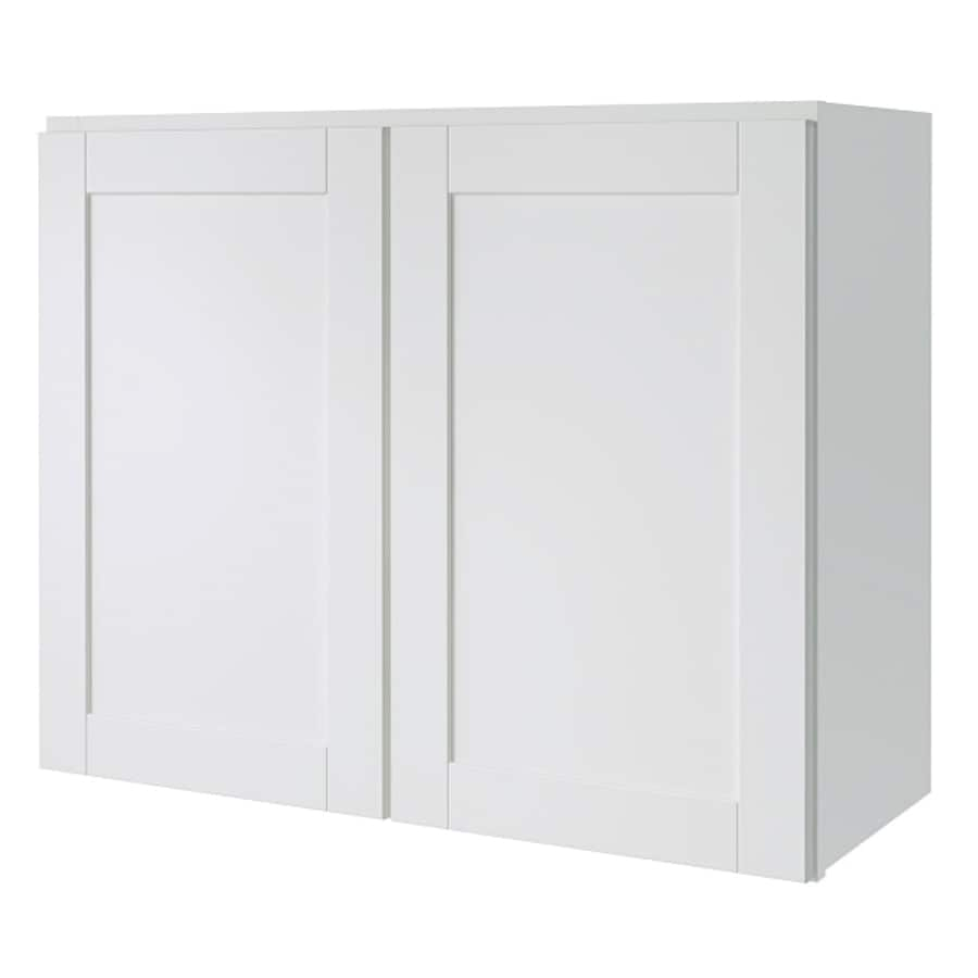 Shop diamond now arcadia 30 in w x 24 in h x 12 in d for Kitchen cabinets 30 x 24