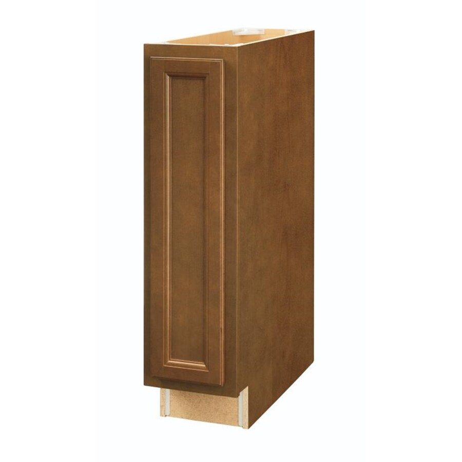 Diamond NOW Weyburn 9-in W x 35-in H x 23.75-in D Brown Door Base Cabinet