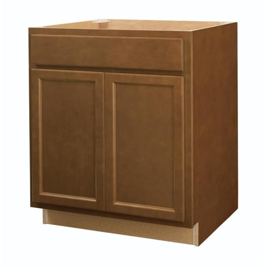 20 Off Lowe S Kitchen Cabinets: Diamond NOW Weyburn 30-in W X 35-in H X 23.75-in D Saddle