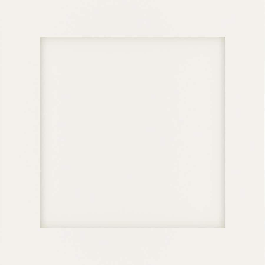 Diamond Intrigue Helena 14.75-in x 14.75-in Sterling White Painted Maple Shaker Cabinet Sample