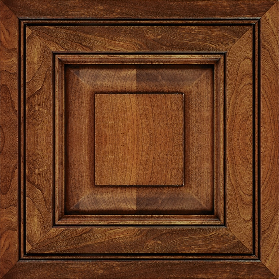 Diamond Intrigue Winona 14.75-in x 14.75-in Cigar Box Stained Cherry Square Cabinet Sample