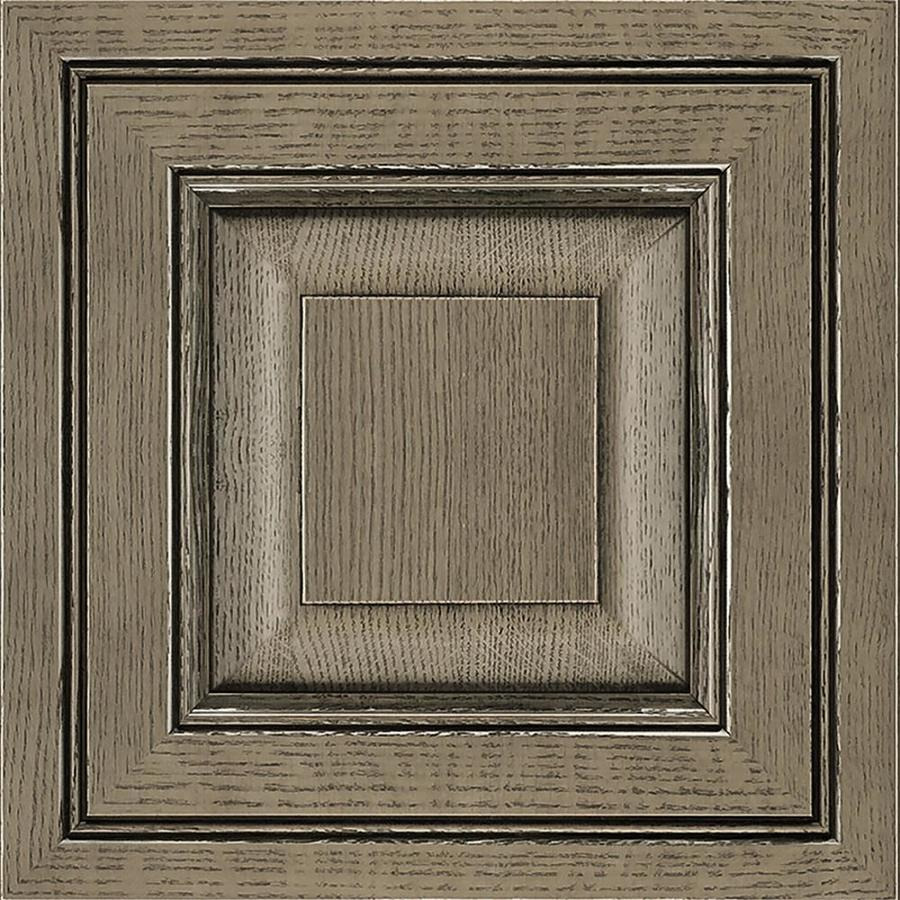 Diamond Intrigue Winona 14.75-in x 14.75-in Driftwood Painted Maple Square Cabinet Sample