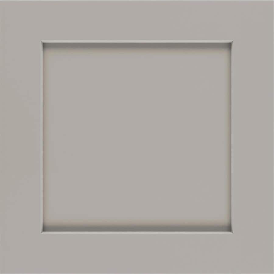 Diamond Reflections Jamestown 14.75 In X 14.75 In Cloud Painted Maple  Shaker Cabinet Sample