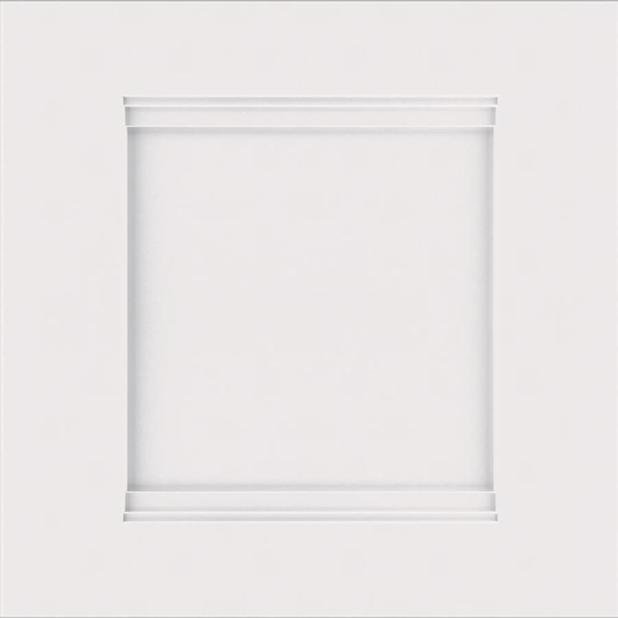 Diamond Prelude Nelson 14.75-in x 14.75-in White Laminate Shaker Cabinet Sample
