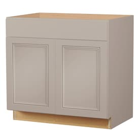 Gray Stock Kitchen Cabinets At Lowes